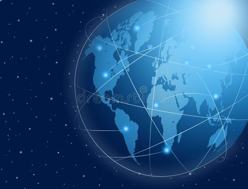 Σύνδεση παγκόσμιων επικοινωνιών στοκ φωτογραφία με δικαίωμα ελεύθερης χρήσης