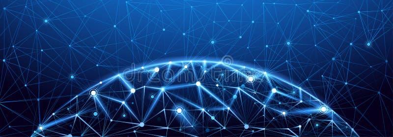 Σύνδεση παγκόσμιων δικτύων απεικόνιση αποθεμάτων