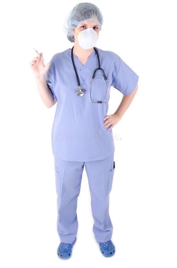 σύριγγα γιατρών στοκ φωτογραφία