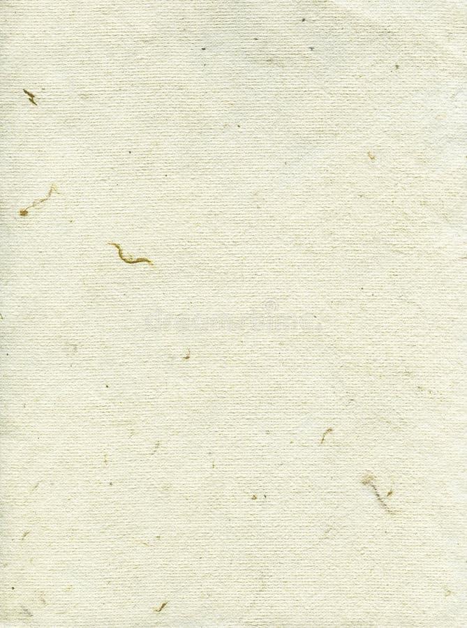 Σύσταση εγγράφου ρυζιού - κρέμα άσπρο  στοκ φωτογραφία με δικαίωμα ελεύθερης χρήσης