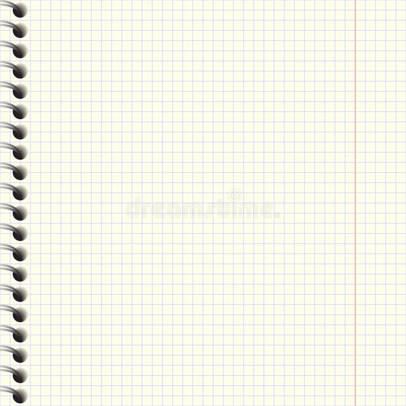 Σύσταση εγγράφου σημειωματάριων ελεύθερη απεικόνιση δικαιώματος