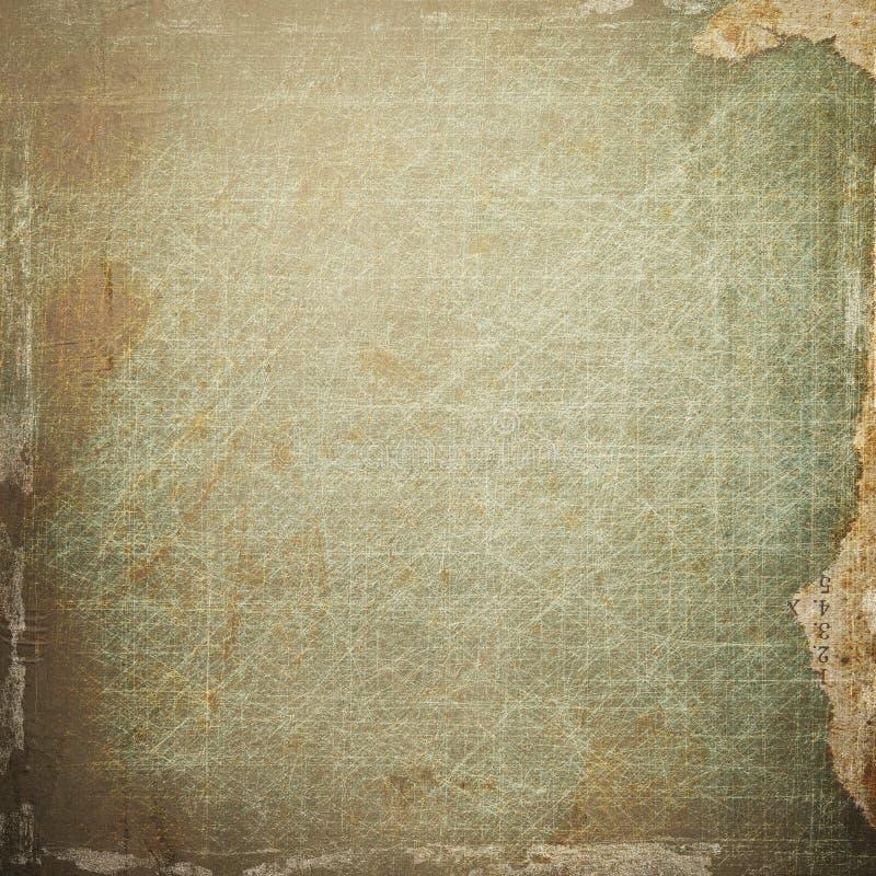 Σύσταση εγγράφου Grunge, εκλεκτής ποιότητας ανασκόπηση ελεύθερη απεικόνιση δικαιώματος