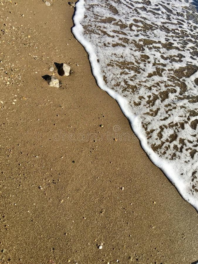 σύσταση θάλασσας άμμου ανασκόπησης στοκ φωτογραφία με δικαίωμα ελεύθερης χρήσης