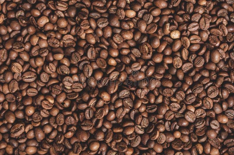 σύσταση καφέ φασολιών ανασκόπησης στοκ φωτογραφία με δικαίωμα ελεύθερης χρήσης