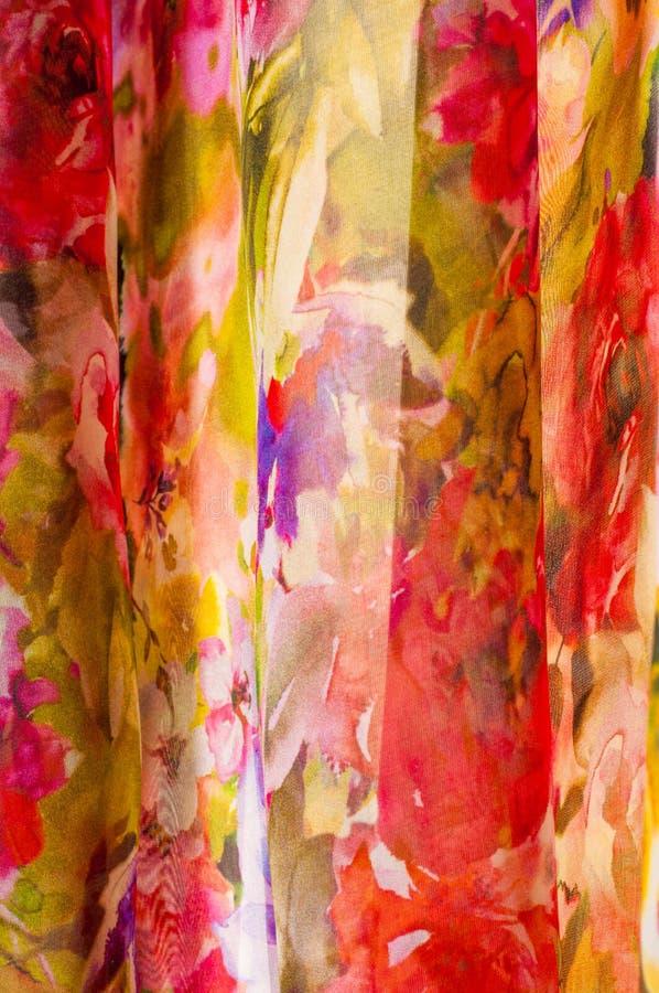 Σύσταση μεταξιού υφάσματος αφηρημένη ζωγραφική στοκ φωτογραφία με δικαίωμα ελεύθερης χρήσης