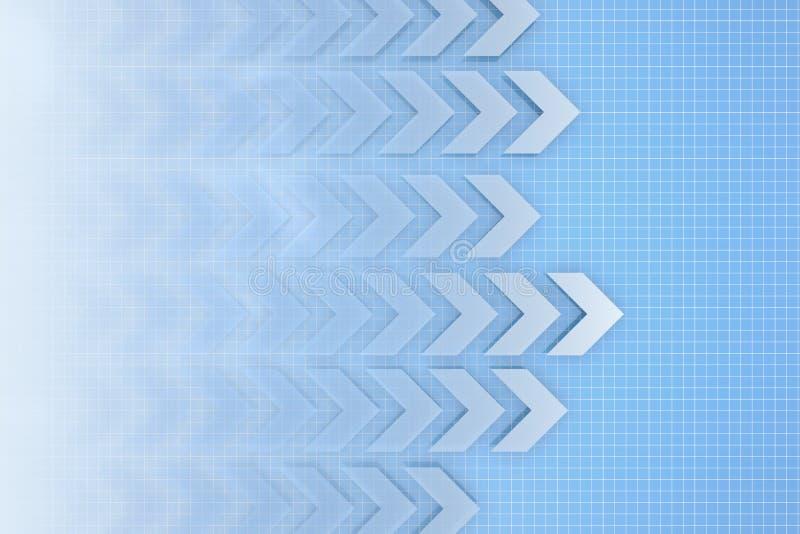 σύσταση μετατόπισης διανυσματική απεικόνιση