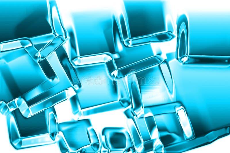 Download σύσταση πάγου κύβων απεικόνιση αποθεμάτων. εικονογραφία από κρύσταλλο - 1543044