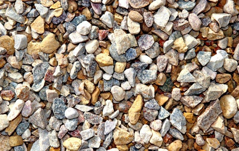 Σύσταση πετρών αμμοχάλικου στοκ εικόνα