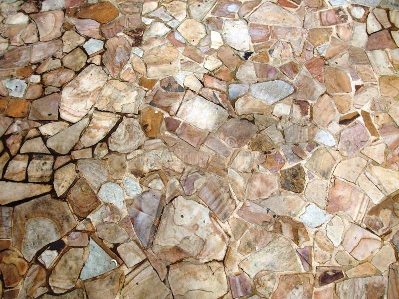 σύσταση πετρών πεζοδρομίων ανασκόπησης στοκ φωτογραφία