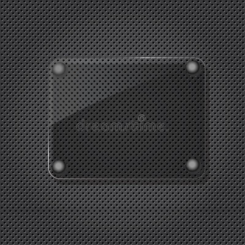 σύσταση σχαρών γυαλιού στοκ εικόνα με δικαίωμα ελεύθερης χρήσης