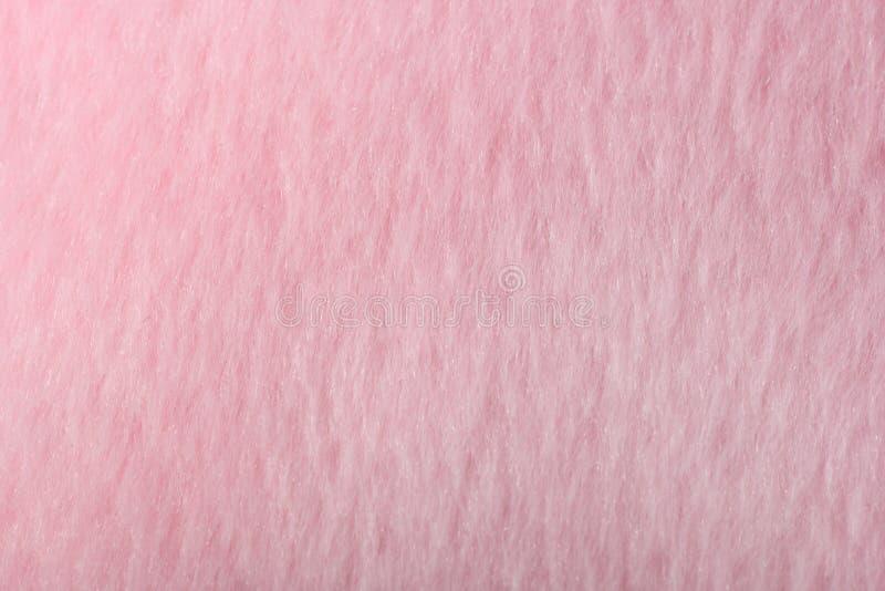 Σύσταση της ανοικτό ροζ κινηματογράφησης σε πρώτο πλάνο υφαντικού υλικού μαλλιού Πράσινο αφηρημένο υπόβαθρο στοκ φωτογραφία