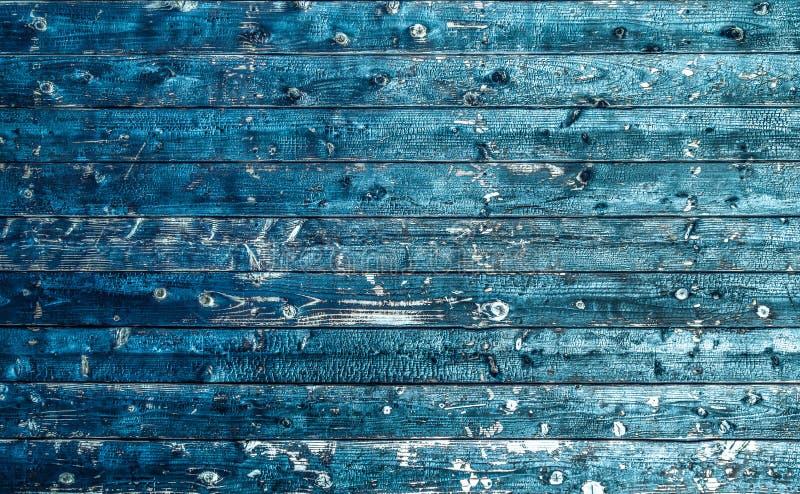 Σύσταση της ηλικίας ξύλινης χρήσης ως φυσικό υπόβαθρο blue electric στοκ εικόνα με δικαίωμα ελεύθερης χρήσης