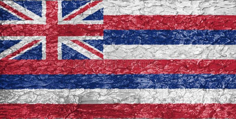 Σύσταση της σημαίας της Χαβάης στοκ φωτογραφία με δικαίωμα ελεύθερης χρήσης