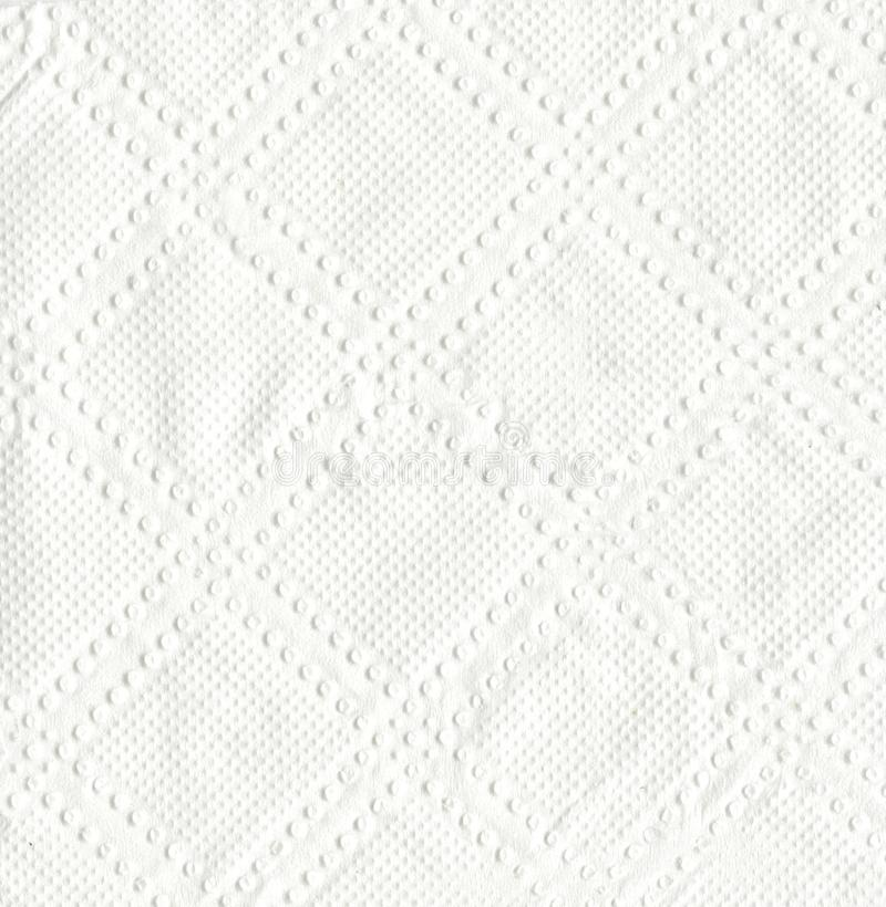 Σύσταση του άσπρου εγγράφου ιστού, του υποβάθρου ή της σύστασης στοκ εικόνες