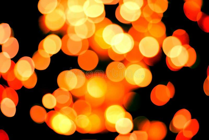 Σύσταση του θολωμένου υποβάθρου των φω'των Χριστουγέννων στοκ εικόνες