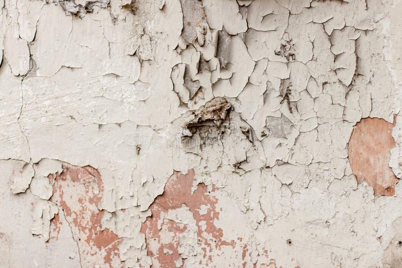 Σύσταση του παλαιού άσπρου ragged τοίχου στοκ εικόνες