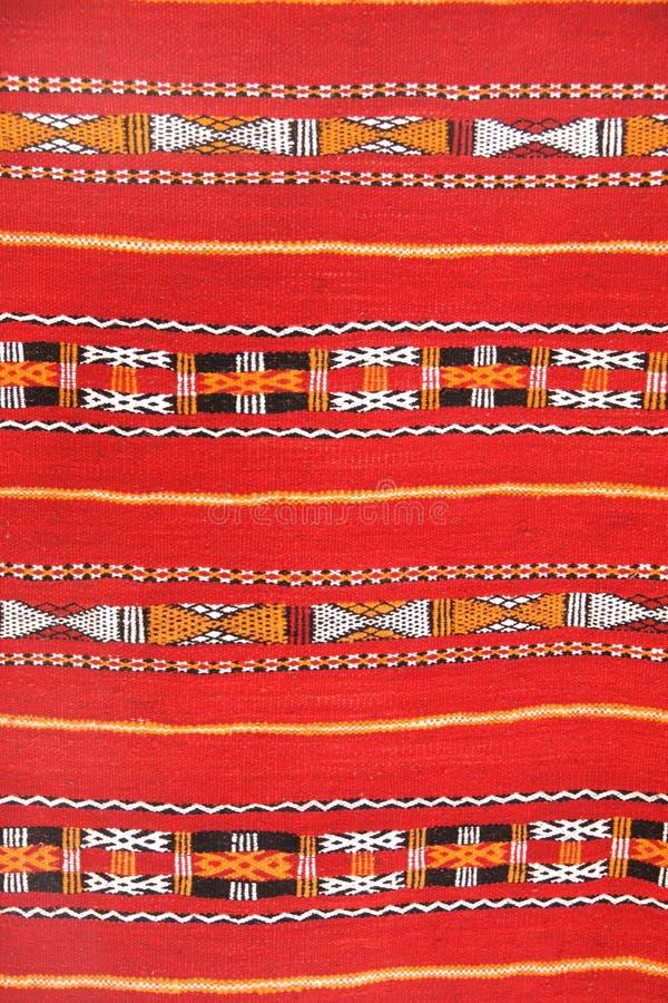 Σύσταση του παραδοσιακού τάπητα μαλλιού berber, Μαρόκο, Αφρική στοκ εικόνα με δικαίωμα ελεύθερης χρήσης
