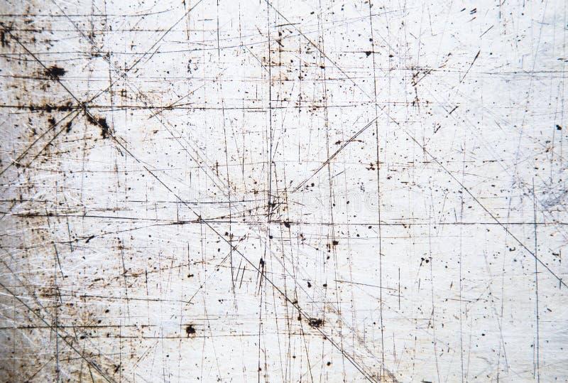 Σύσταση του παλαιού σιδήρου με τη γρατσουνιά Υπόβαθρο στοκ φωτογραφίες