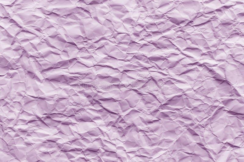 Σύσταση του ρόδινου ζαρωμένου εγγράφου στοκ εικόνα με δικαίωμα ελεύθερης χρήσης