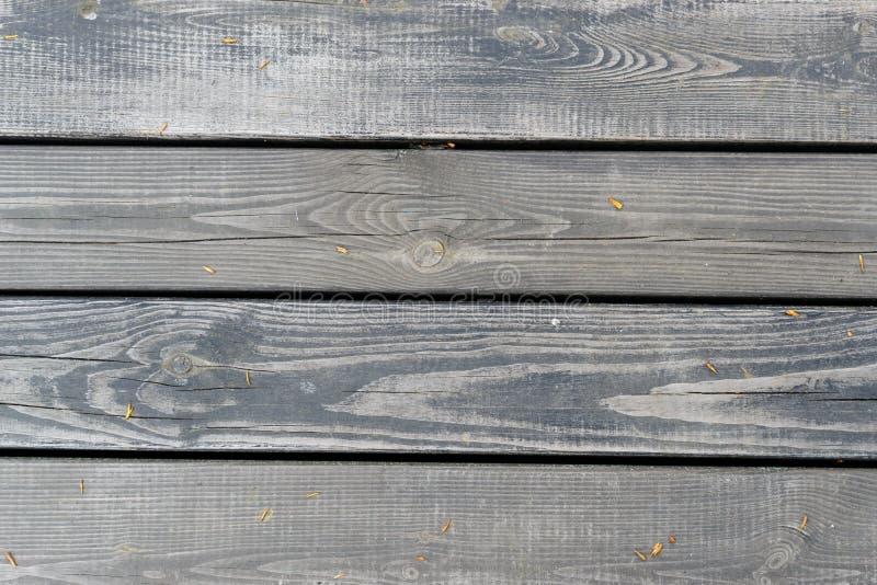 Σύσταση των παλαιών γκρίζων ξύλινων σανίδων στοκ φωτογραφίες με δικαίωμα ελεύθερης χρήσης