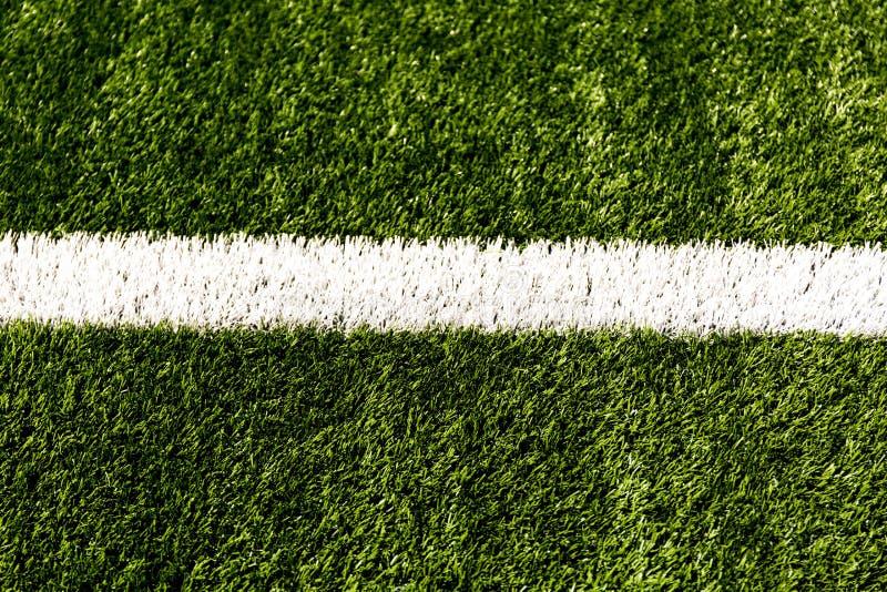 Σύσταση υποβάθρου σφαιρών γραμμών χλόης σταδίων αγωνιστικών χώρων ποδοσφαίρου ποδοσφαίρου στοκ φωτογραφίες