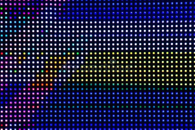 Σύσταση υποβάθρου τέχνης δυσλειτουργίας cyberpunk Ψηφιακή οθόνη δοκιμής Αισθητική έννοια της δεκαετίας του '80 στοκ φωτογραφίες