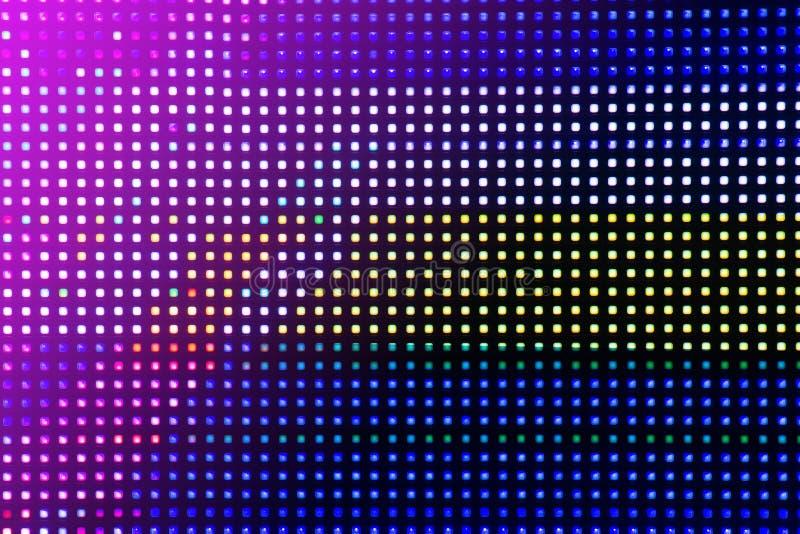 Σύσταση υποβάθρου τέχνης δυσλειτουργίας cyberpunk Ψηφιακή οθόνη δοκιμής Αισθητική έννοια της δεκαετίας του '80 στοκ εικόνα με δικαίωμα ελεύθερης χρήσης