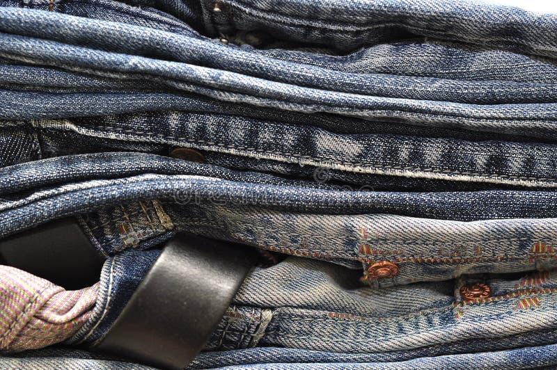 Σύσταση υποβάθρου τζιν τζιν παντελόνι στοκ εικόνες με δικαίωμα ελεύθερης χρήσης