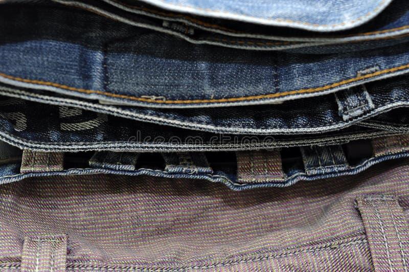 Σύσταση υποβάθρου τζιν τζιν παντελόνι στοκ εικόνες