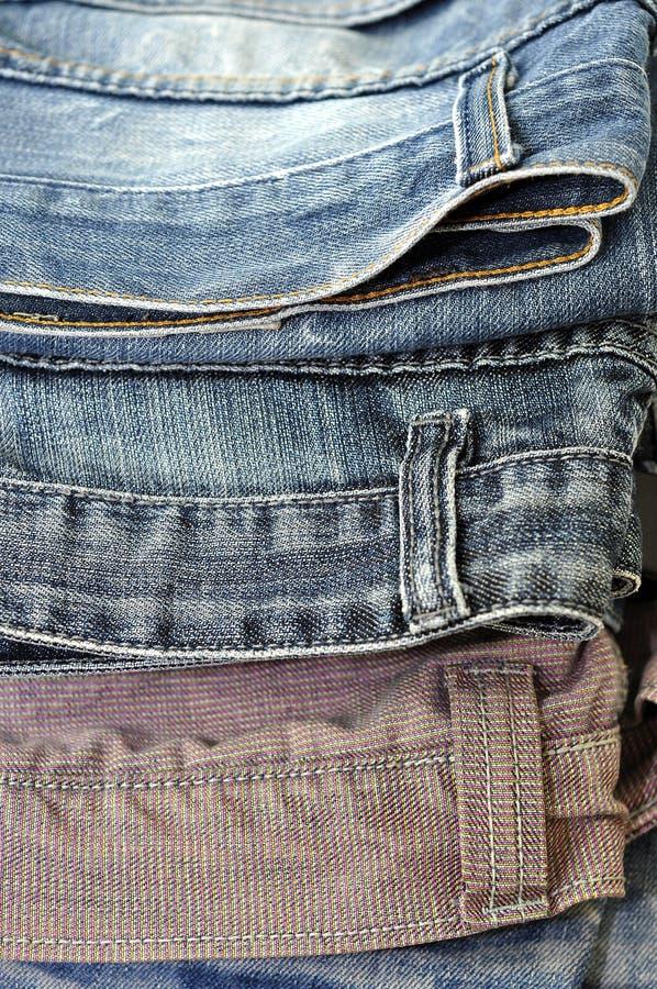 Σύσταση υποβάθρου τζιν τζιν παντελόνι στοκ εικόνα με δικαίωμα ελεύθερης χρήσης