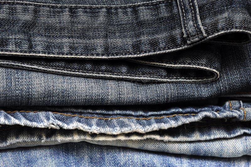 Σύσταση υποβάθρου τζιν τζιν παντελόνι στοκ φωτογραφία με δικαίωμα ελεύθερης χρήσης