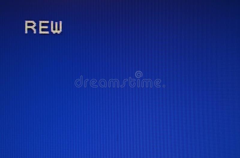 Σύσταση δυσλειτουργίας οθόνης δοκιμής στοκ εικόνες
