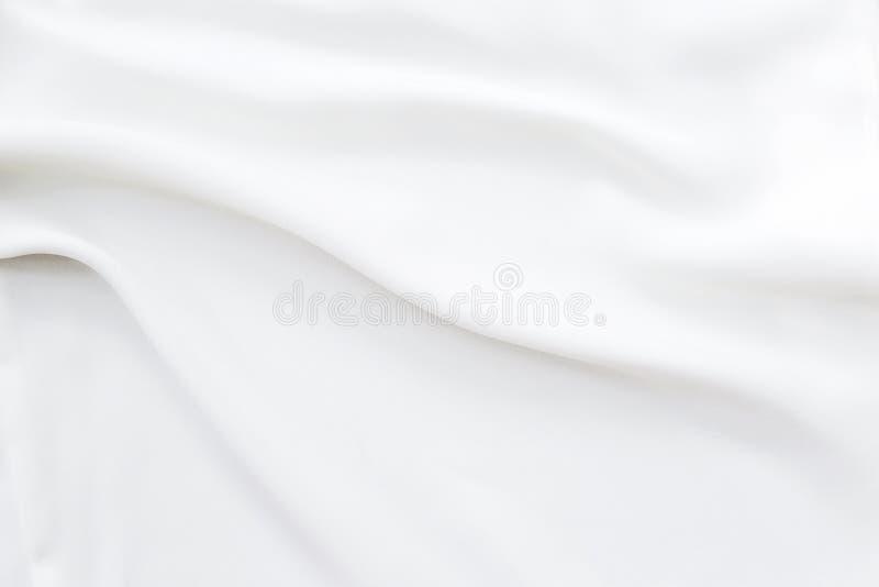 Σύσταση υφάσματος κυματισμού άσπρη στοκ φωτογραφίες
