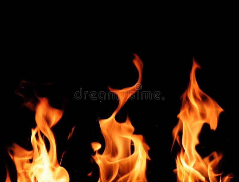 Σύσταση φλόγας πυρκαγιάς στοκ εικόνες