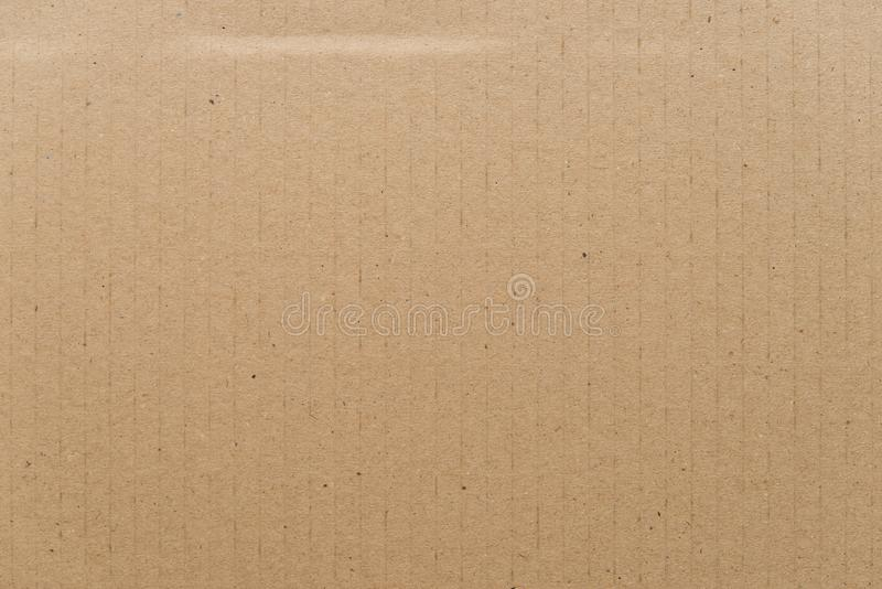 Σύσταση χαρτονιού, καφετί έγγραφο στοκ φωτογραφία