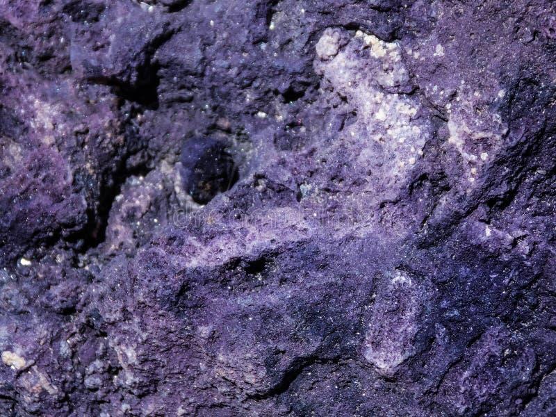 Σύσταση Purpurite στοκ εικόνα