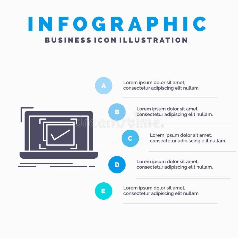 σύστημα, έλεγχος, πίνακας ελέγχου, καλό, ΕΝΤΑΞΕΙ πρότυπο Infographics για τον ιστοχώρο και παρουσίαση Γκρίζο εικονίδιο GLyph με μ απεικόνιση αποθεμάτων