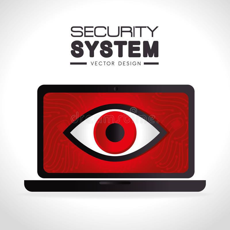 Download Σύστημα ασφαλείας και επιτήρηση Απεικόνιση αποθεμάτων - εικονογραφία από στοιχείο, ηλεκτρονικός: 62703315