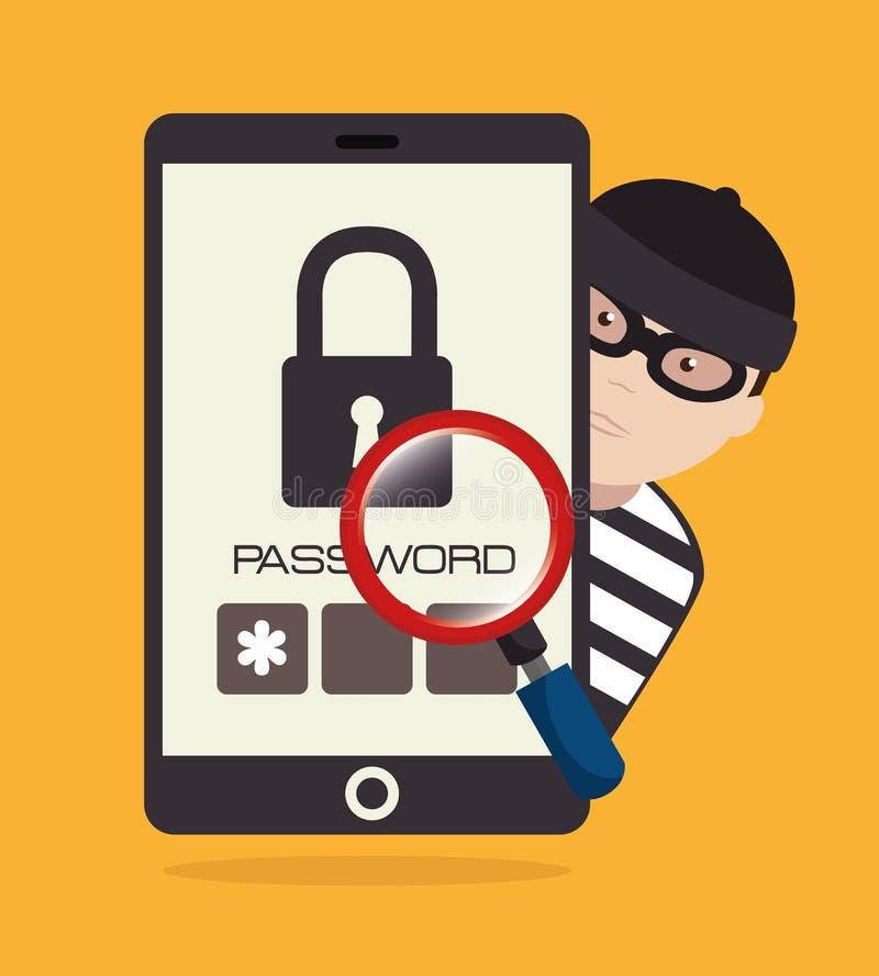 Download Σύστημα ασφαλείας και επιτήρηση Απεικόνιση αποθεμάτων - εικονογραφία από εικονίδια, σύστημα: 62703418