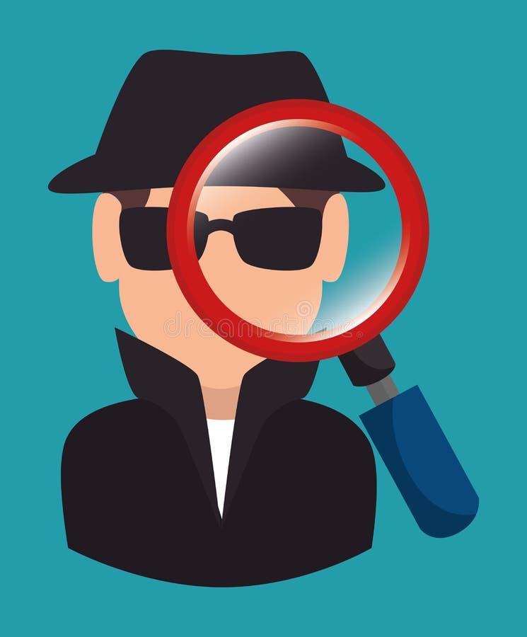 Download Σύστημα ασφαλείας και επιτήρηση Απεικόνιση αποθεμάτων - εικονογραφία από σύμβολο, ασφάλεια: 62703517