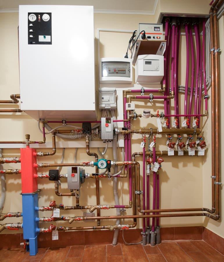 σύστημα θέρμανσης στοκ φωτογραφίες