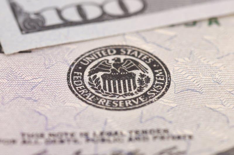 Σύστημα Κεντρικής Τράπεζας των ΗΠΑ στοκ φωτογραφίες με δικαίωμα ελεύθερης χρήσης