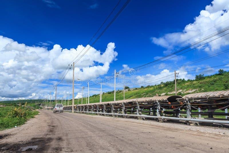 Σύστημα μεταφορέων άνθρακα στοκ εικόνες με δικαίωμα ελεύθερης χρήσης