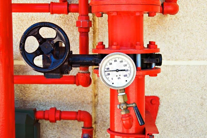 σύστημα πυρκαγιάς ελέγχ&omicron στοκ εικόνες με δικαίωμα ελεύθερης χρήσης