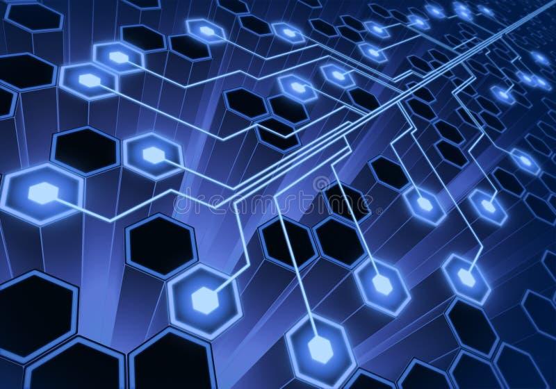 σύστημα σύνδεσης διανυσματική απεικόνιση
