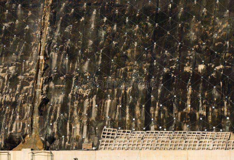 Σύστημα της καθίζησης εδάφους στοκ φωτογραφία