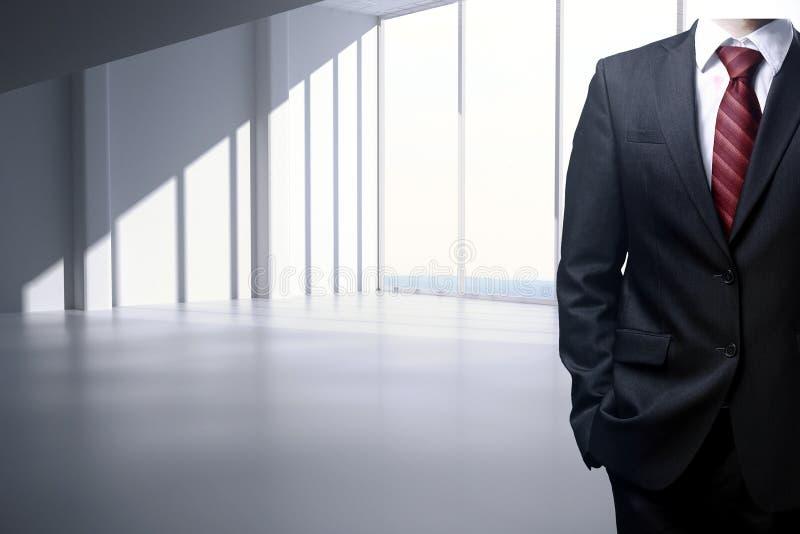 Σώμα επιχειρηματιών στο εσωτερικό διανυσματική απεικόνιση
