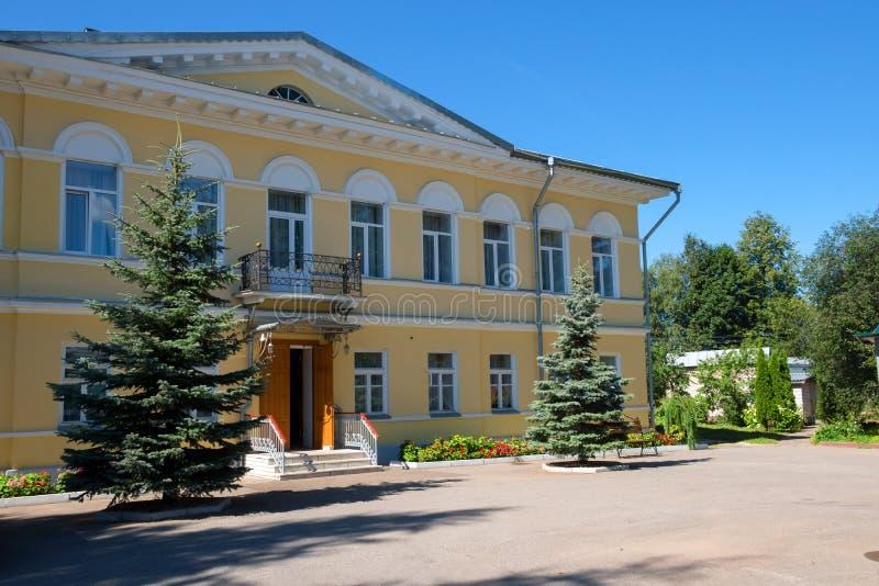 Σώμα κοινοβίων Ιερό μοναστήρι πνευμάτων Borovichi στοκ εικόνες