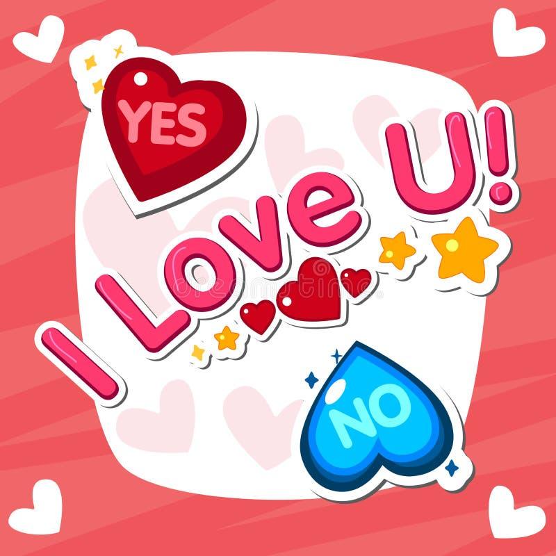 Σ' αγαπώ, χειρόγραφο βραχυνμένο κείμενο με τη μορφή καρδιών ελεύθερη απεικόνιση δικαιώματος