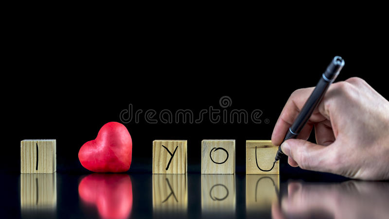 Σ' αγαπώ στοκ εικόνες